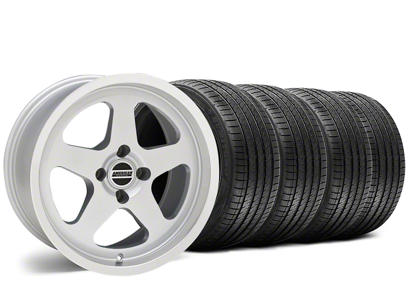 SC Style Silver Wheel & Sumitomo Tire Kit - 17x9 (87-93 All, Excluding 1993 Cobra)