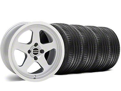 SC Style Silver Wheel & Sumitomo Tire Kit - 17x9 (87-93 All, Excluding Cobra)