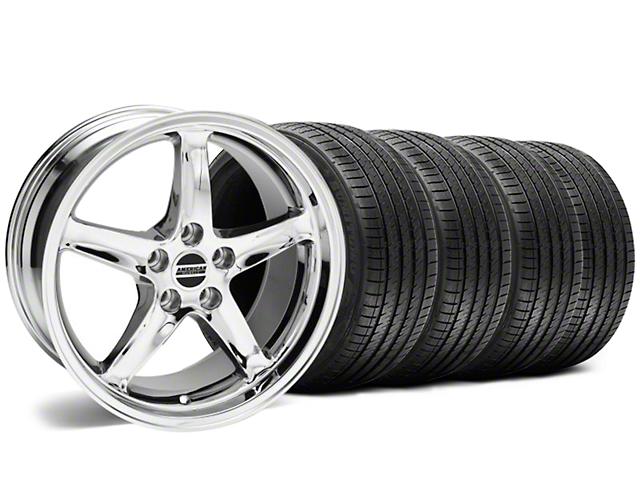 1995 Cobra R Style Chrome Wheel & Sumitomo Tire Kit - 17x9 (94-98 All)