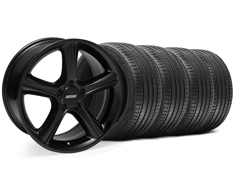 2010 GT Premium Style Black Wheel & Sumitomo Tire Kit - 18x9 (94-98 All)