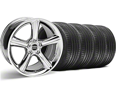 2010 GT Premium Style Chrome Wheel & Sumitomo Tire Kit - 18x9 (94-98 All)