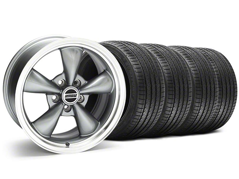Bullitt Anthracite Wheel and Sumitomo Maximum Performance HTR Z5 Tire Kit; 17x9 (94-98 All)