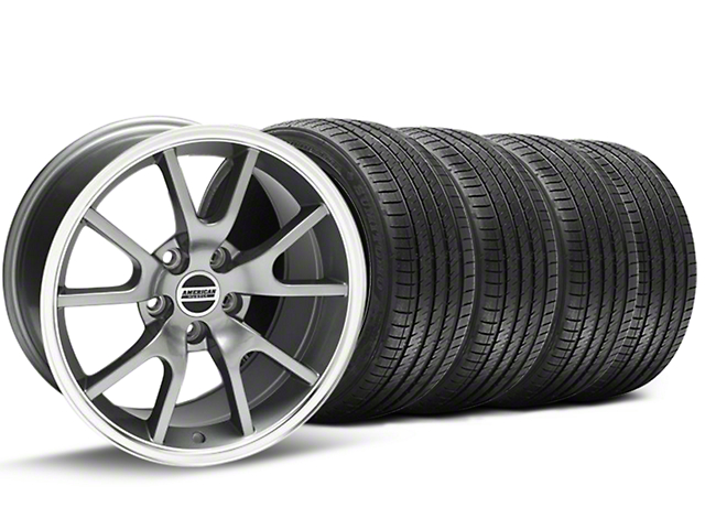 FR500 Style Anthracite Wheel & Sumitomo Tire Kit - 17x9 (94-98 All)
