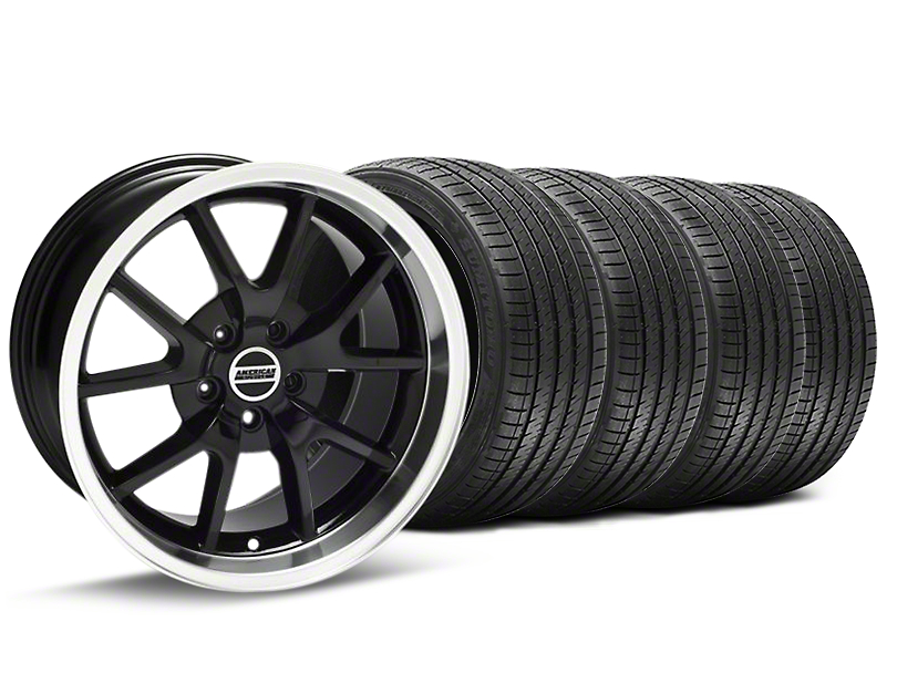 FR500 Style Black Wheel & Sumitomo Maximum Performance HTR Z5 Tire Kit - 18x9 (94-98 All)