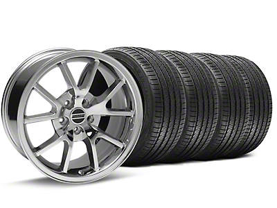 FR500 Style Chrome Wheel & Sumitomo Tire Kit - 17x9 (94-98 All)