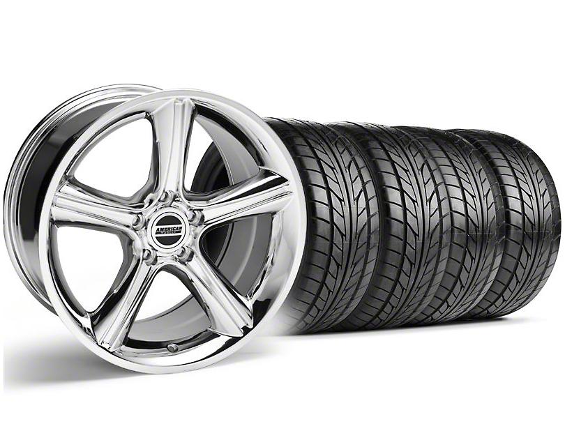 2010 GT Premium Style Chrome Wheel & NITTO Tire Kit - 18x9 (94-98 All)
