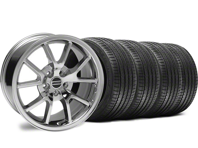 Staggered FR500 Style Chrome Wheel & Sumitomo Tire Kit - 18x9/10 (94-98 All)