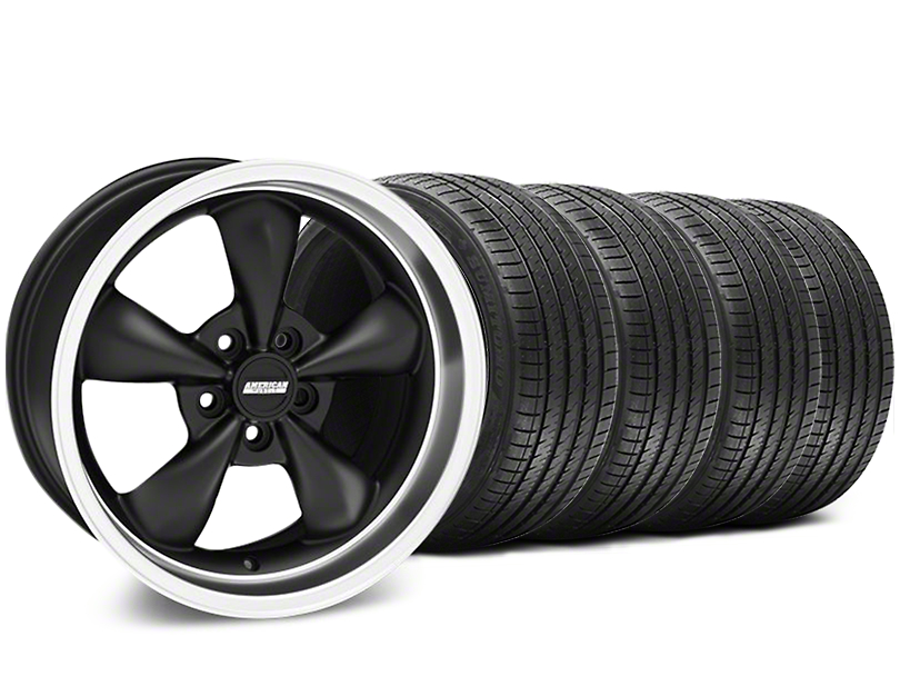 Bullitt Matte Black Wheel & Sumitomo Tire Kit - 17x8 (94-04 All)
