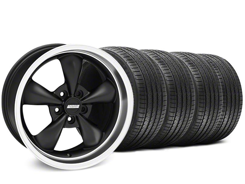 Bullitt Matte Black Wheel & Sumitomo Tire Kit - 17x9 (94-98 All)
