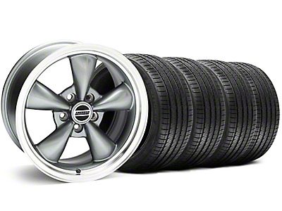 Bullitt Anthracite Wheel & Sumitomo Tire Kit - 18x8 (94-98 All)
