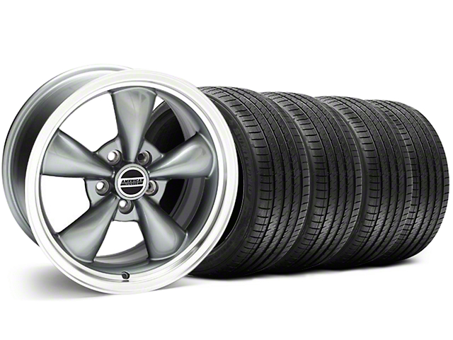 Bullitt Anthracite Wheel & Sumitomo Tire Kit - 18x8 (99-04 All)