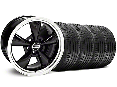 Bullitt Black Wheel & Sumitomo Tire Kit - 18x8 (05-14 GT, V6)