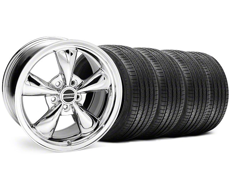 Bullitt Chrome Wheel and Sumitomo Maximum Performance HTR Z5 Tire Kit; 18x8 (94-98 All)