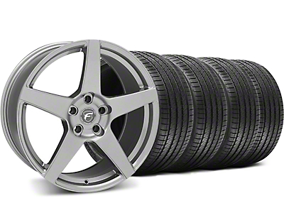 Forgestar CF5 Monoblock Gunmetal Wheel & Sumitomo Tire Kit - 18x9 (05-14 All)