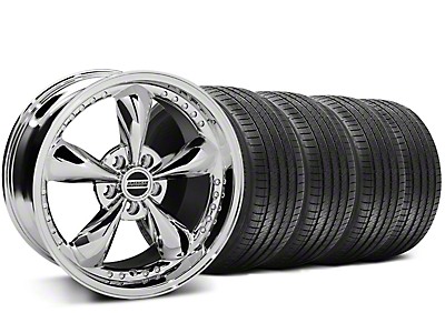 Bullitt Motorsport Chrome Wheel & Sumitomo Tire Kit - 18x9 (94-98 All)