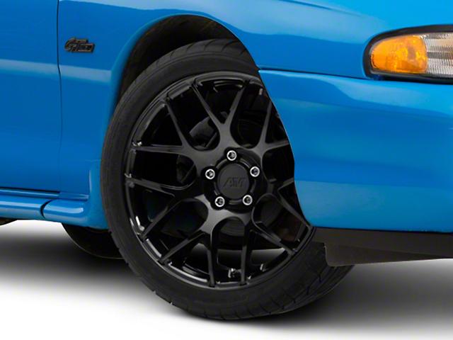 AMR Black Wheel; 18x8 (94-98 All)