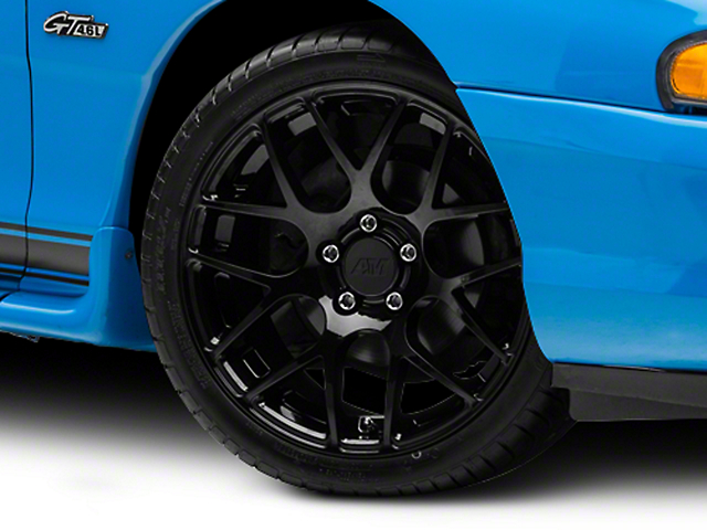 AMR Black Wheel; 18x9 (94-98 All)