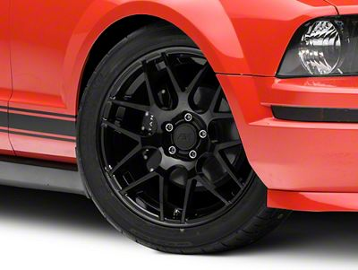 Add AMR Black Wheel - 19x8.5 (05-14 All)