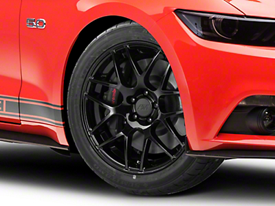 AMR Black Wheel - 19x8.5 (15-17 All)