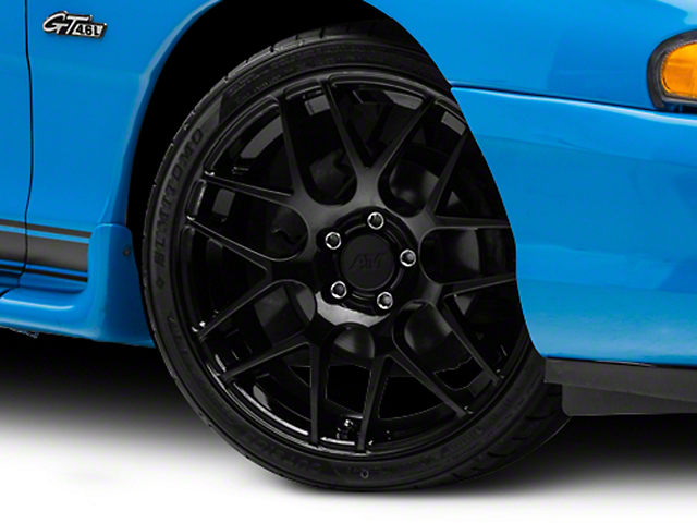 AMR Black Wheel; 19x8.5 (94-98 All)