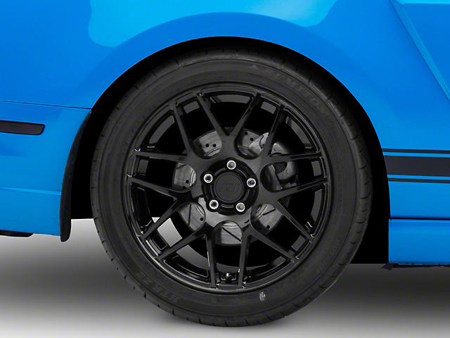 AMR Black Wheel; Rear Only; 19x10 (10-14 All)