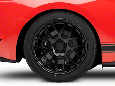 AMR Black Wheel - 19x10 (15-18 GT, EcoBoost, V6)