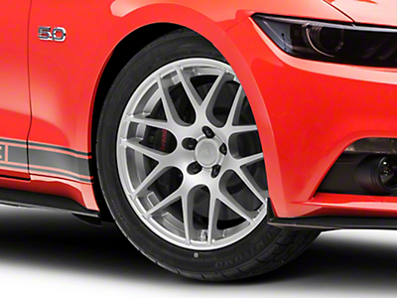 AMR Silver Wheel - 19x8.5 (15-17 All)