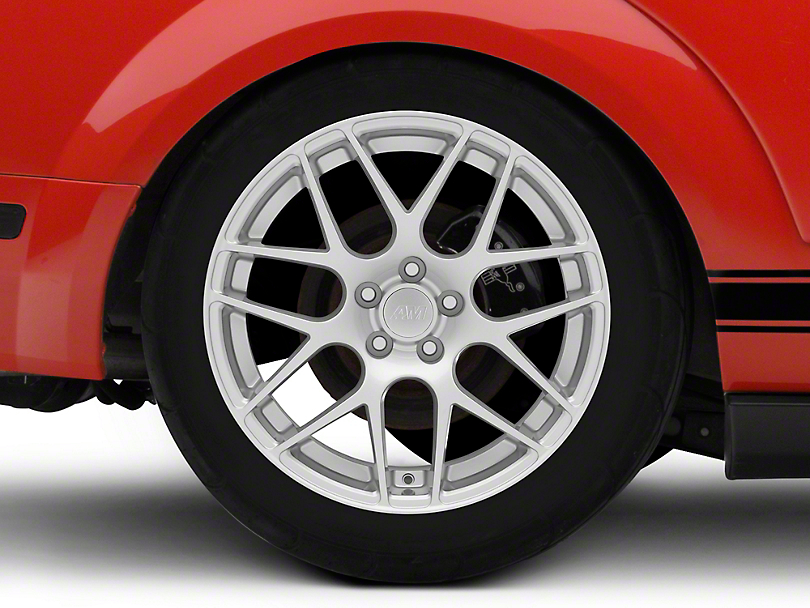 AMR Silver Wheel - 19x10 - Rear Only (05-14 All)
