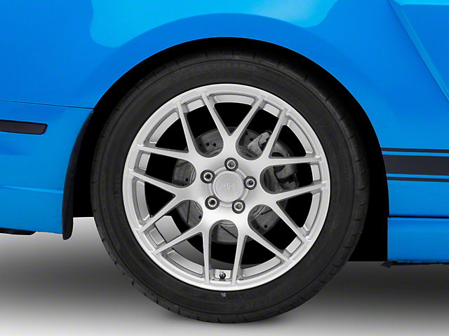 AMR Silver Wheel; Rear Only; 19x10 (10-14 All)