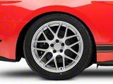 AMR Silver Wheel; Rear Only; 19x10 (15-20 GT, EcoBoost, V6)