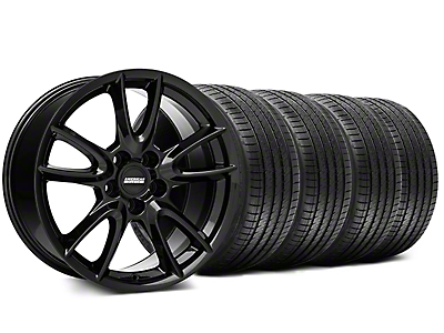 Track Pack Style Gloss Black Wheel & Sumitomo Tire Kit - 18x9 (99-04 All)