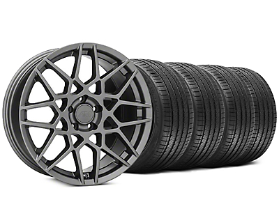 2013 GT500 Style Charcoal Wheel & Sumitomo Tire Kit - 20x8.5 (05-14 All)