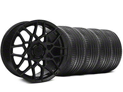 2013 GT500 Style Gloss Black Wheel & Sumitomo Tire Kit - 20x8.5 (05-14 GT, V6)