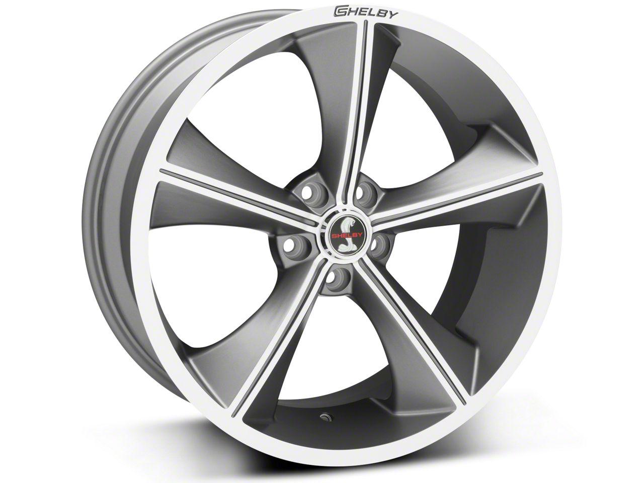 Shelby CS70 Gunmetal Wheel - 20x9 (05-19 All)