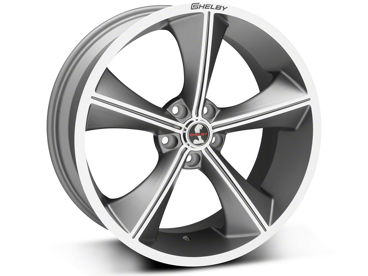 Shelby CS70 Gunmetal Wheel - 20x9 (05-18 All)