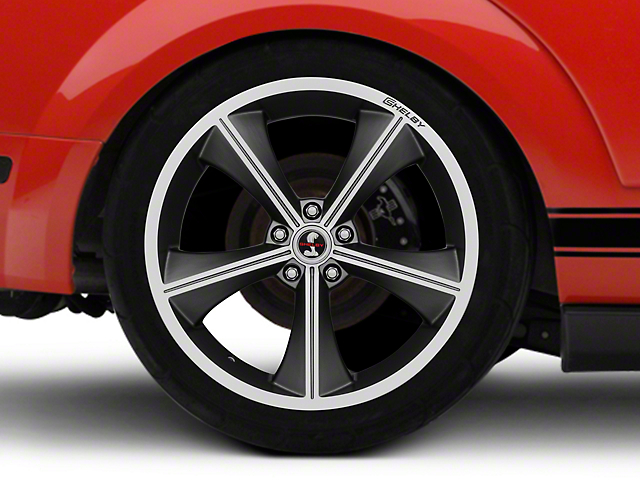 Shelby CS70 Gunmetal Wheel; Rear Only; 20x10 (05-09 All)