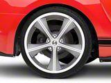 Shelby CS70 Gunmetal Wheel; Rear Only; 20x10 (15-20 GT, EcoBoost, V6)