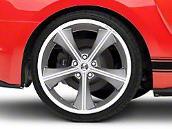 Shelby CS70 Gunmetal Wheel - 20x10 - Rear Only (15-19 GT, EcoBoost, V6)