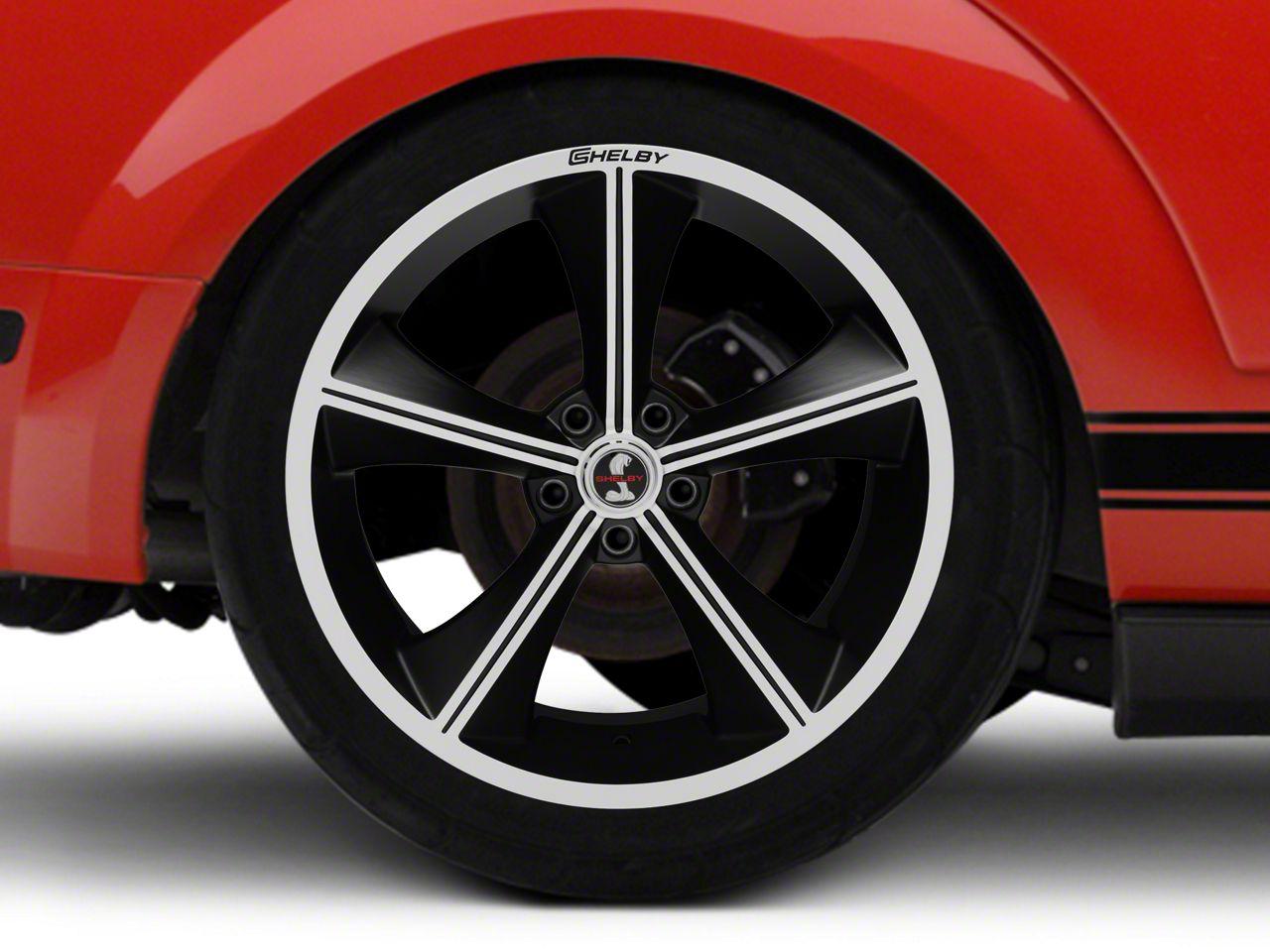 Shelby CS70 Matte Black Wheel - 20x10 - Rear Only (05-14 All)