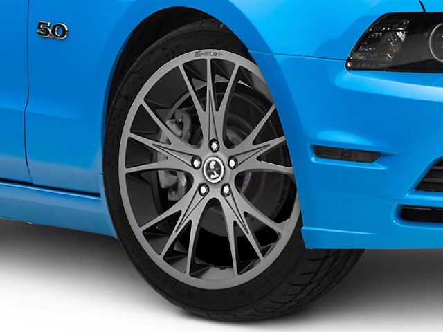 Shelby CS1 Gunmetal Wheel; 20x9 (10-14 All)