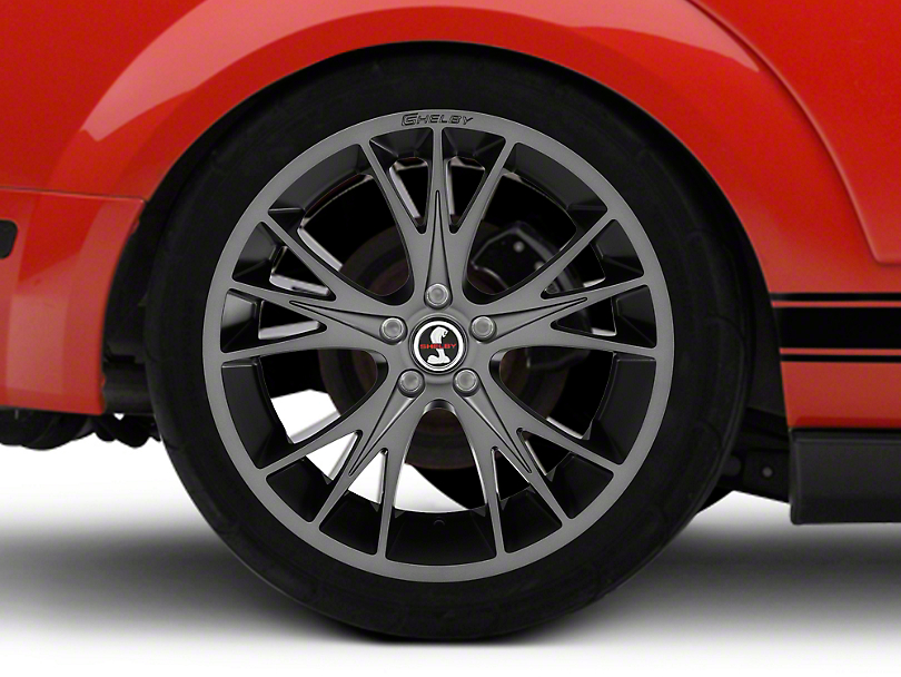 Shelby CS1 Gunmetal Wheel - 20x9 (05-14 All)