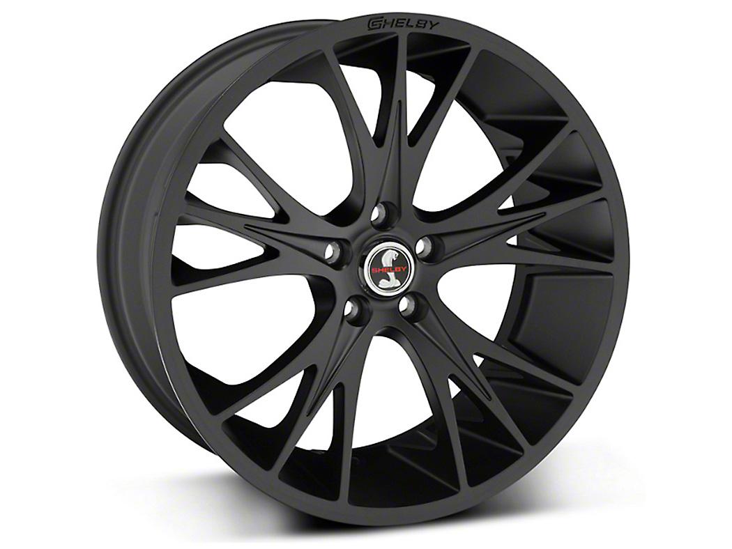 Shelby CS1 Matte Black Wheel - 20x9 (05-18 All)