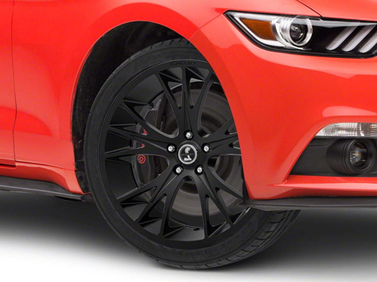 Shelby CS1 Matte Black Wheel - 20x9 (15-19 GT, EcoBoost, V6)