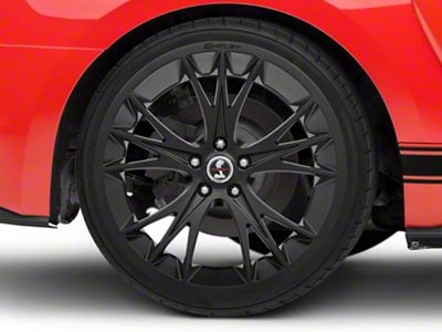 Shelby CS1 Matte Black Wheel - 20x11 - Rear Only (05-19 All)
