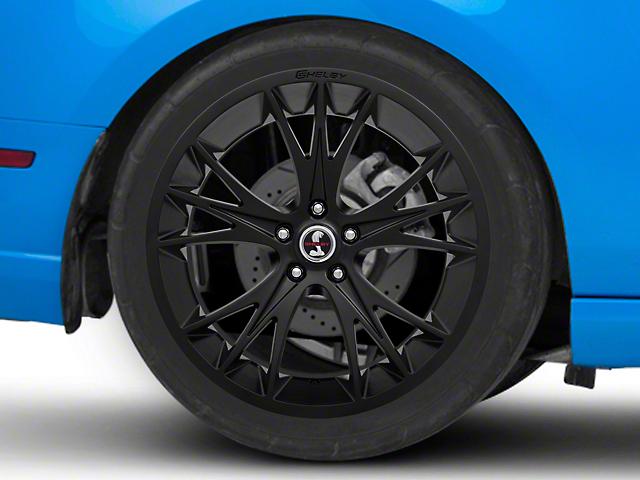 Shelby CS1 Matte Black Wheel; Rear Only; 20x11 (10-14 All)