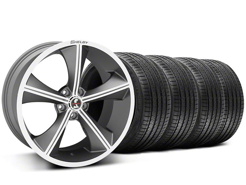 Staggered Shelby CS70 Gunmetal Wheel & Sumitomo Tire Kit - 20x9/10 (05-14 All)