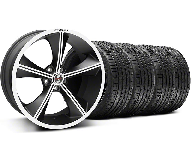 Shelby CS70 Matte Black Wheel & Sumitomo Tire Kit - 20x9 (05-14 All)