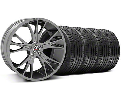 Shelby CS1 Gunmetal Wheel & Sumitomo Tire Kit - 20x9 (05-14 All)