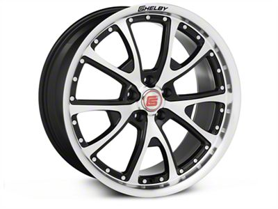 Shelby CS40 Black Machined Wheel - 20x9 (05-19 All)