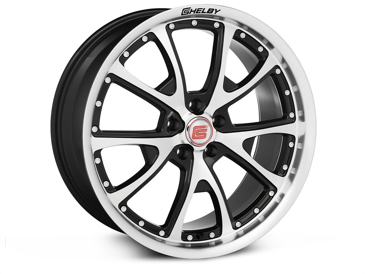 Shelby CS40 Black Machined Wheel - 20x9 (05-18 All)